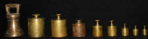 Colonial weights and measures
